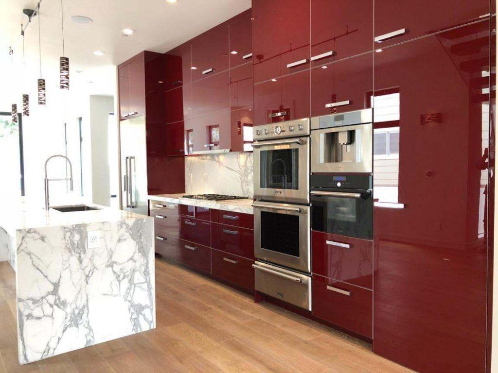 Acrylic Kitchen Cabinets Granite Countertops Quartz